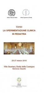 """Scheda Corso """"Clinica Pediatrica"""""""