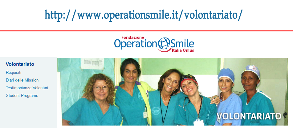 http://www.operationsmile.it/volontariato/