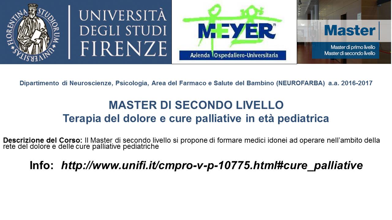 Master 2° livello